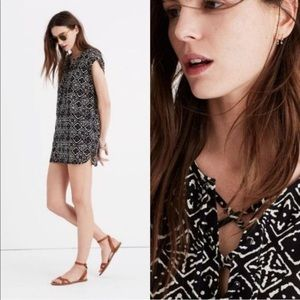Madewell African Inspired Print Blouse